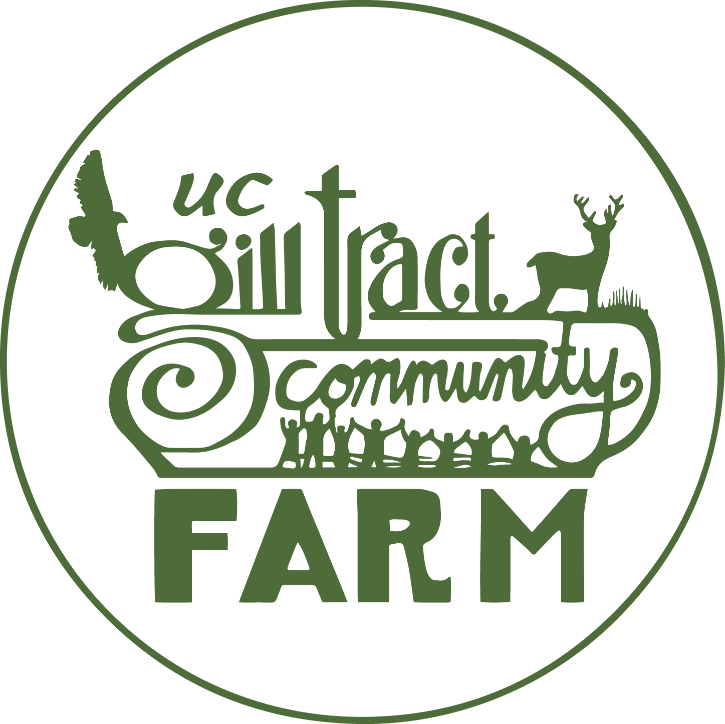 Frog Hollow Community Center Gill Tract Logo
